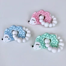 Jambu Beads non-toxic silicone jewellery & teething accessories - Hedgehog Ring Teether