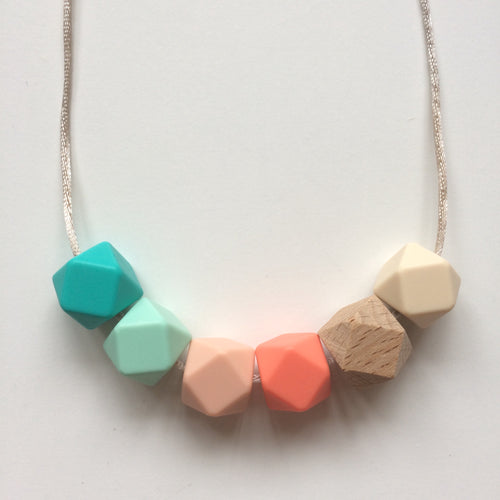 Jambu beads non-toxic silicone jewellery & teething accessories - Ariella Necklace