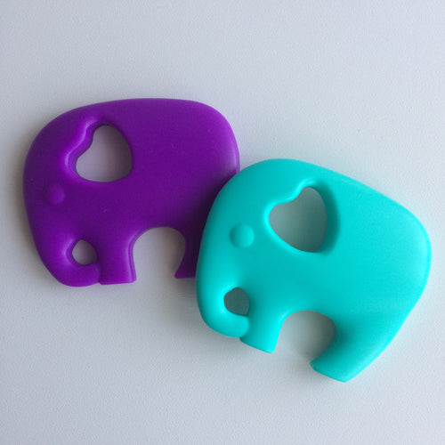 Jambu Beads non-toxic silicone jewellery & teething accessories - Elephant Teether