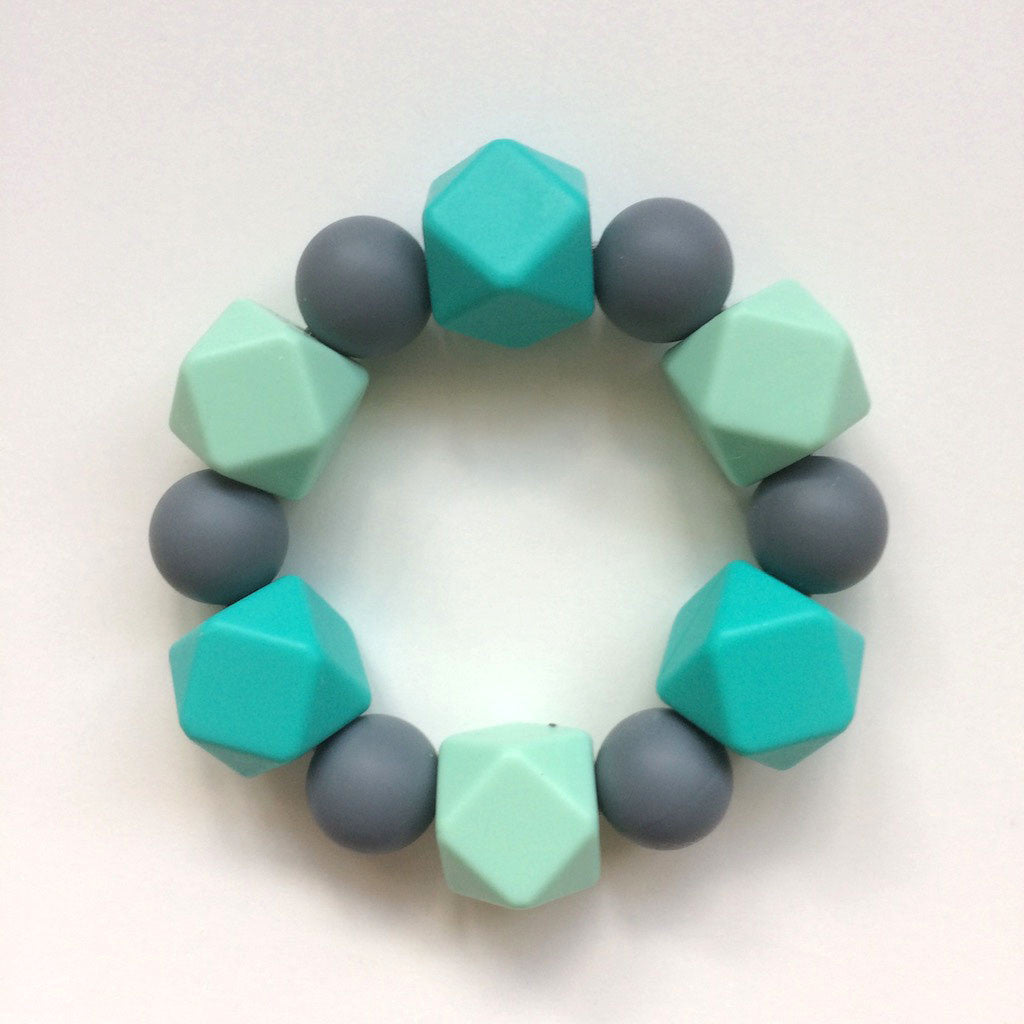 Jambu beads non-toxic silicone jewellery & teething accessories - Serenity Teether