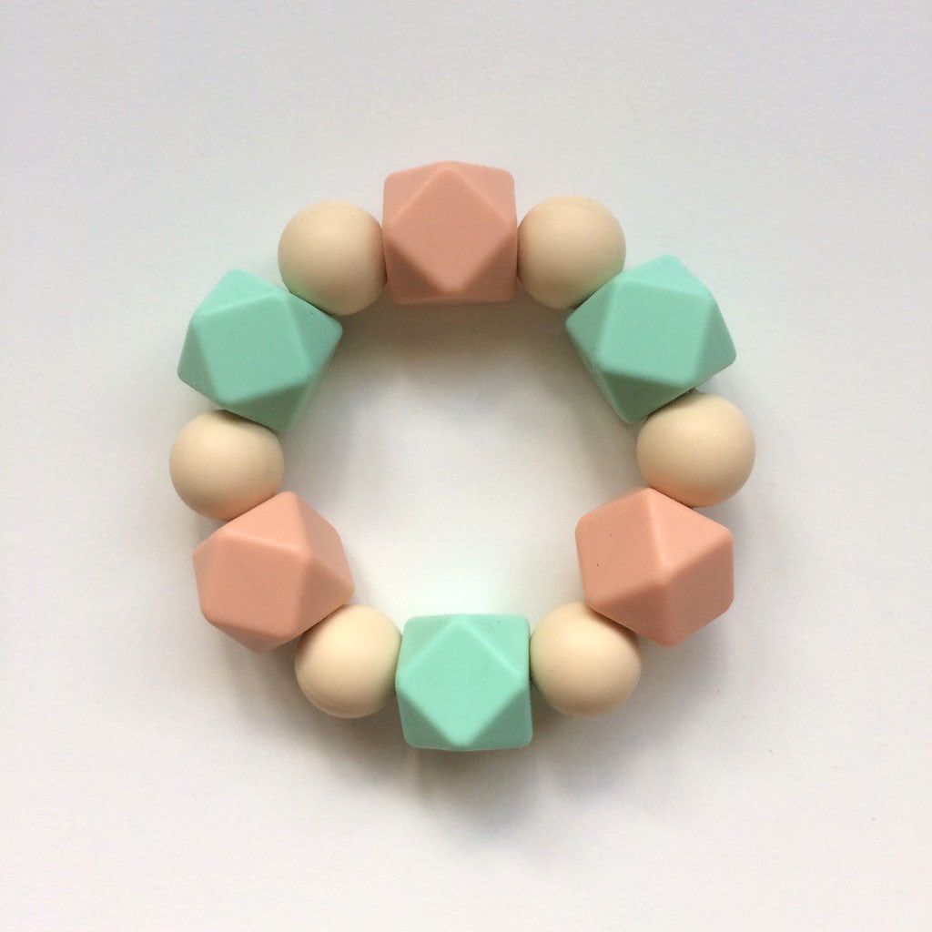 Jambu beads non-toxic silicone jewellery & teething accessories - Harmony Teether
