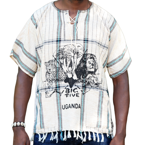 East African Fringed Shirt - Big Five
