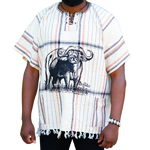 East African Fringed Shirt - Buffalo