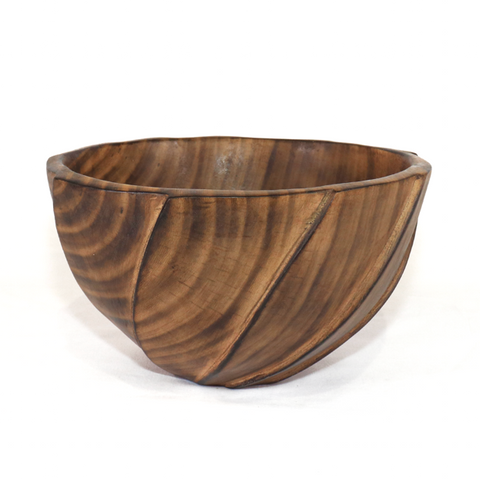 Edgy Jacaranda Wooden Salad Bowl