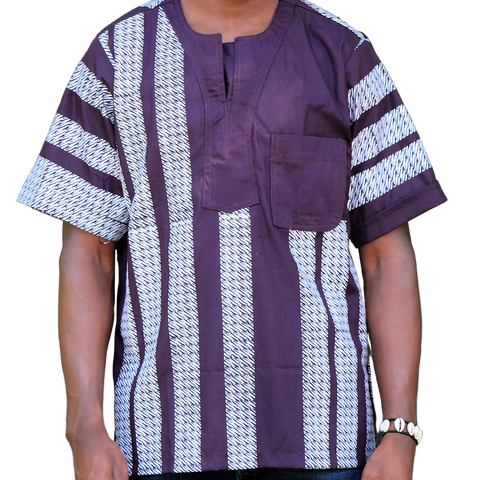 Grapevine & White East African Men's Classic Design Shirt