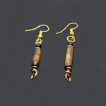 African Malakite Stone Earrings - Type 4
