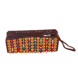 Beaded Coconut Purse