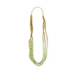 Mint Green Paper Bead Necklace
