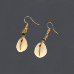Cowrie Shell African Earrings