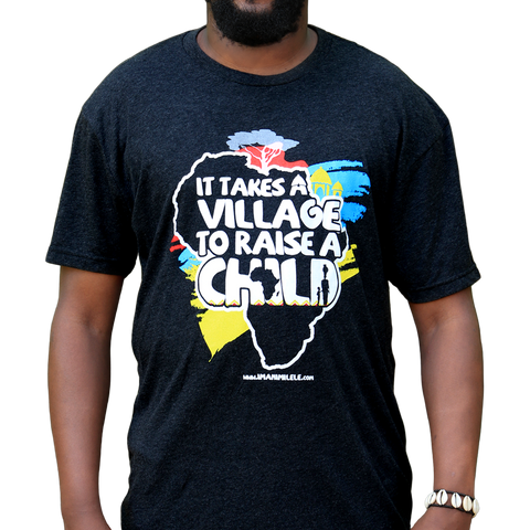 Vintage Black It Takes A Village T-Shirt