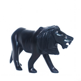 Lion - Ebony Wood