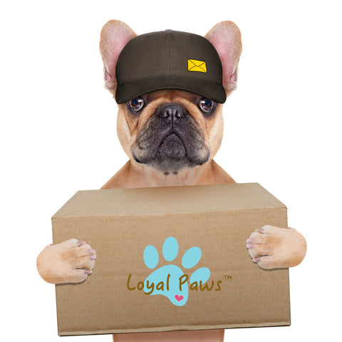 loyal paws shipping information