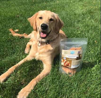 Chicken Jerky Dog Treats - Loyal Paws