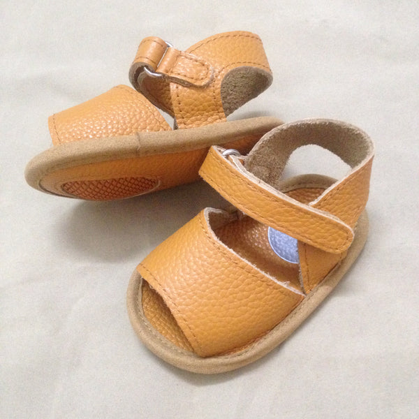 'Little Airlies' Tan Leather
