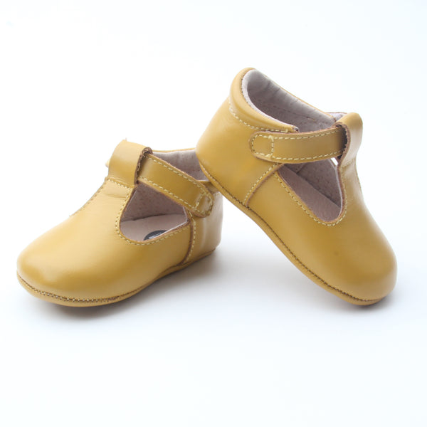 'Little Franki' Mustard Leather