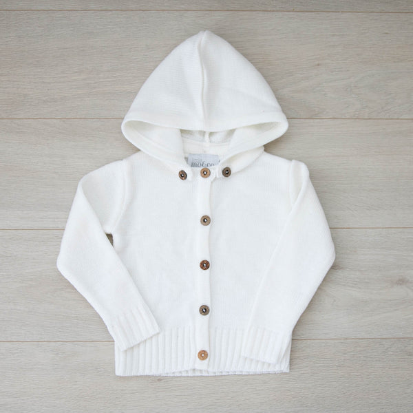 Blair Knit Cardigan with Detachable Hoodie