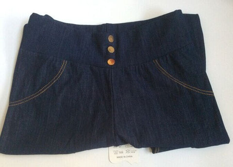 Super Elastic Denim Cotton/ 5XL Plus size