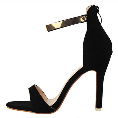 Concise Dress Suede Party Shoes