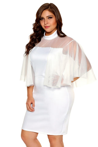 Flare Sleeve Night Club  Hollow Out Dress