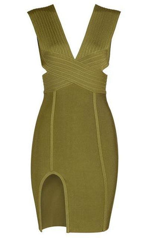 Hollow Out Bandage Dress