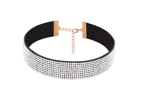 Crystal Rhinestone Chokers