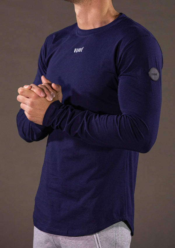 EMBLEM LONG SLEEVE - NAVY