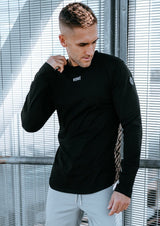 EMBLEM LONG SLEEVE - BLACK