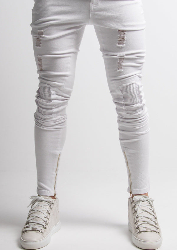 IVORY JEANS - WHITE