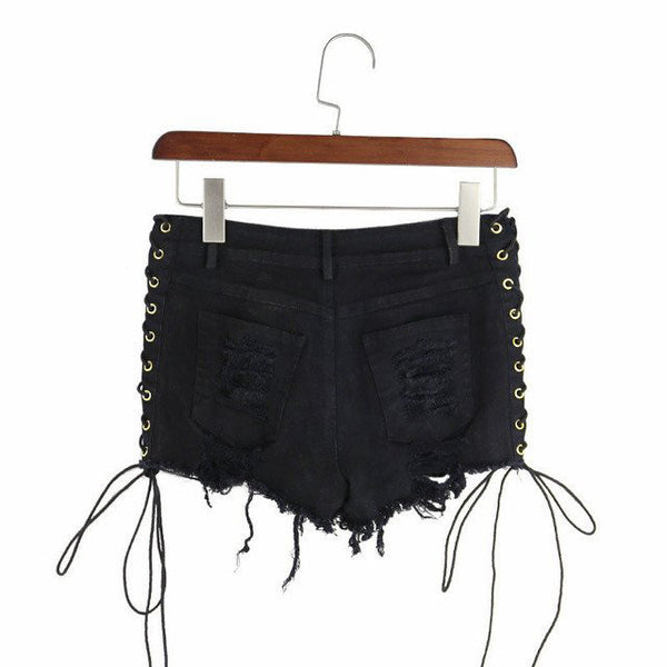 Special Discount: Lace Up Shorts