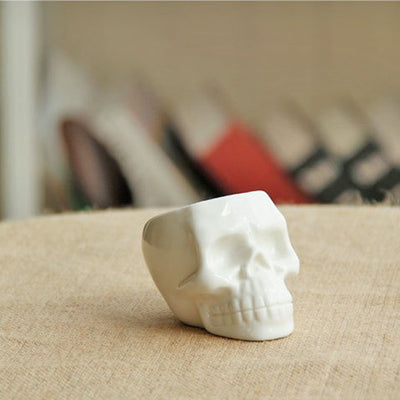 Miniature Bone Weaver Pot