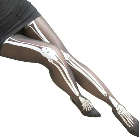 Spooky Bones Tights