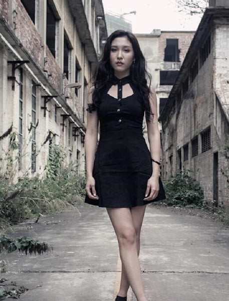 Special Discount: Sleeveless Hollow Soul Dress