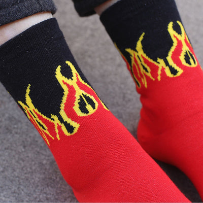 Flamestorm Socks
