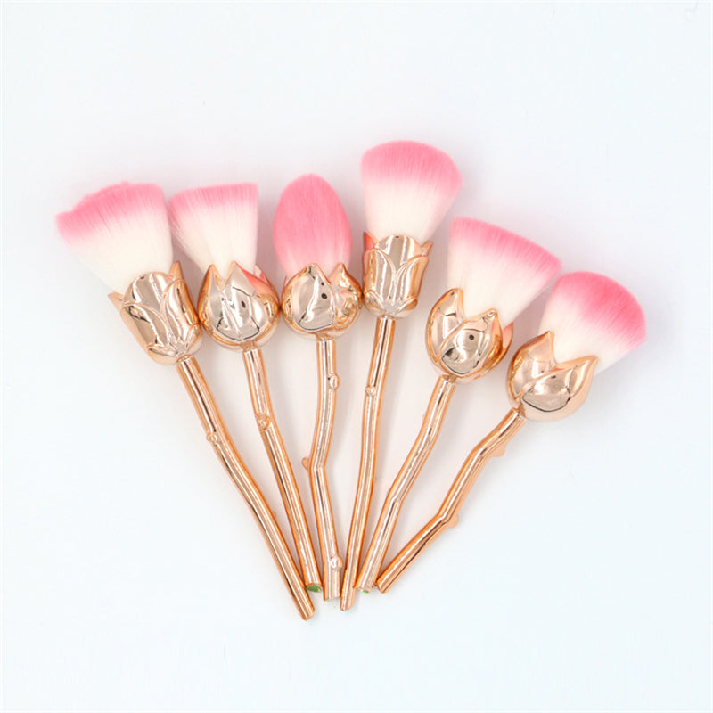 Dark Romance Rose Makeup Brush Set (3 Colours)