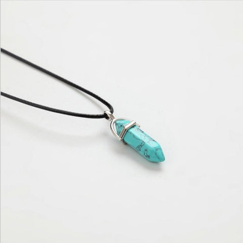 Precious Crystal Necklace (6 Colours)
