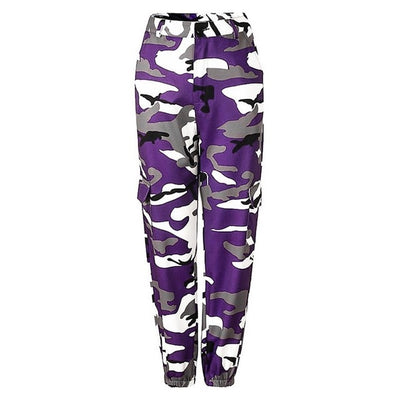 Colour Me Camo Cargo Trousers (4 Colours)