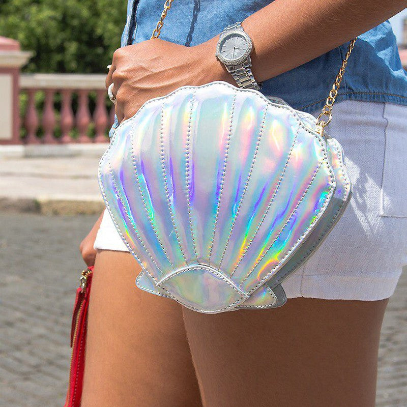 Holographic Laser Mermaid Handbag
