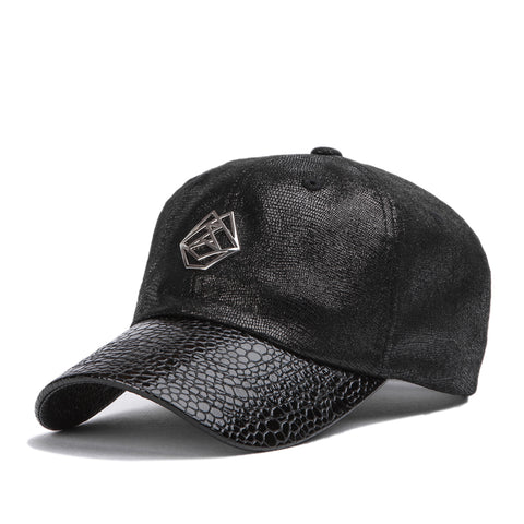 Metal Logo Ball Cap