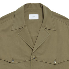 Pocket Detailed Shirt Khaki
