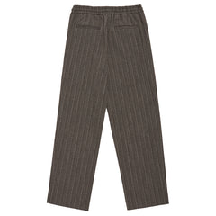 Stripe Drawstring Pants in Mocha Stripe