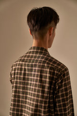 Haus 01 Khaki Check Pattern Shirt