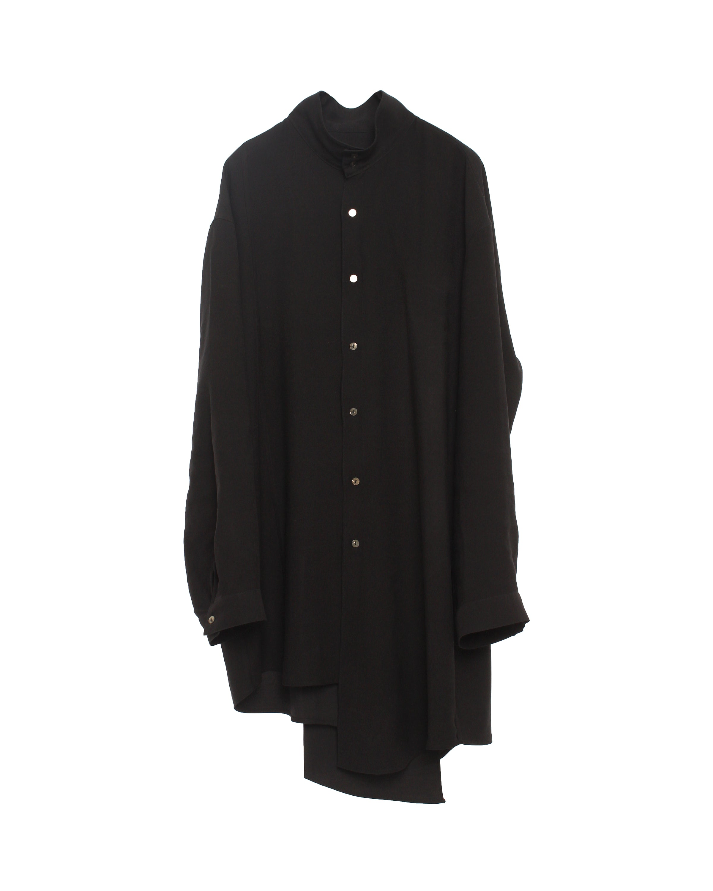 Back Origami Shirt Black