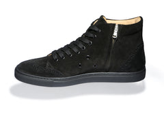 Ariza Very Black High-Top Sneakers