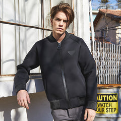 Big bislon Sharing Leather Cusion Jumper