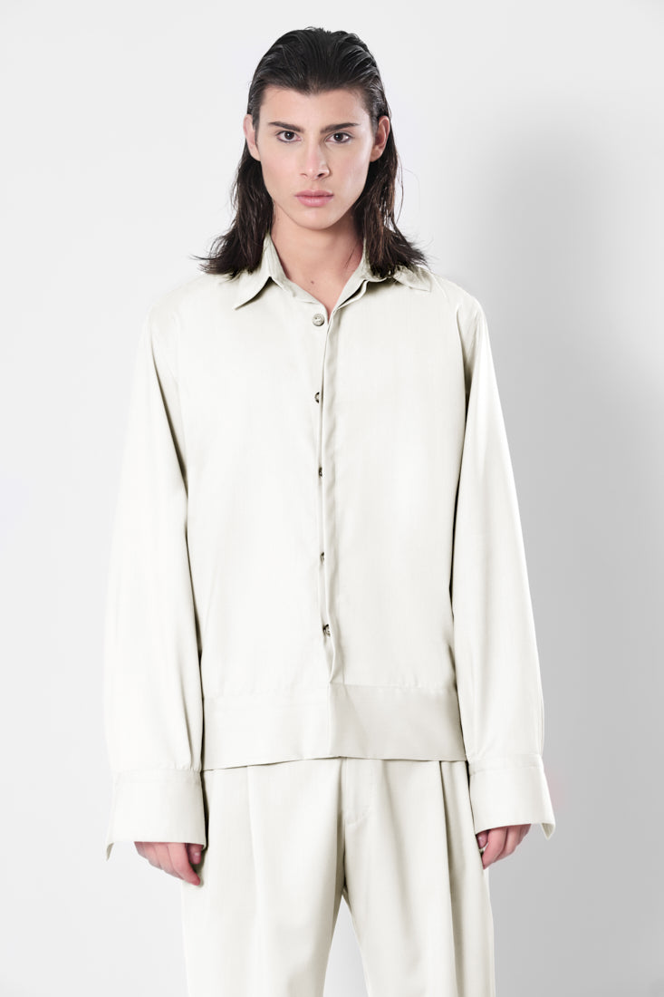 Snow Drop Shirt Jacket