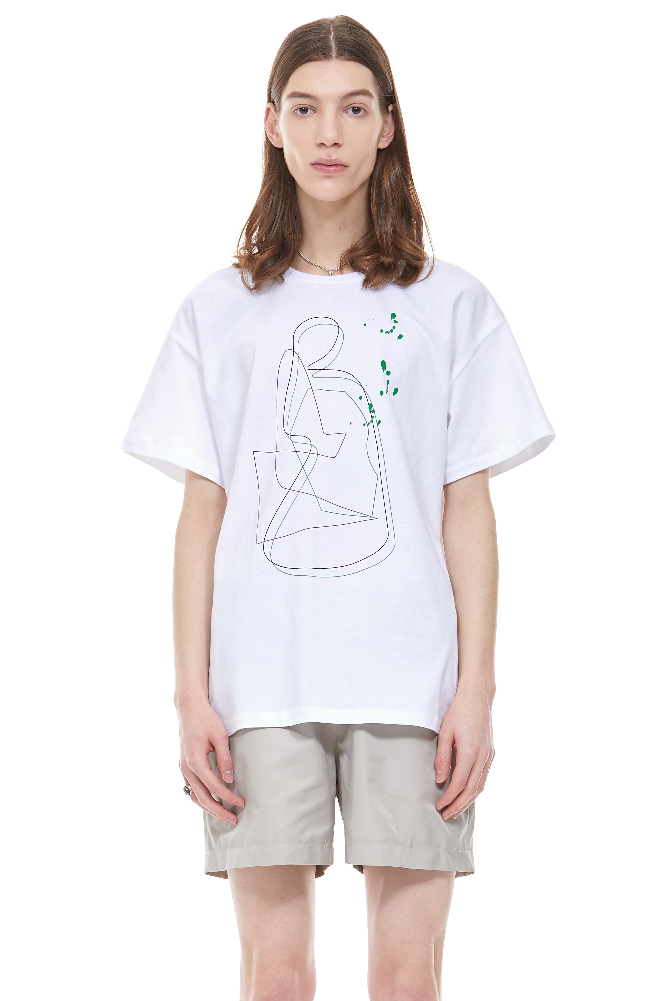 Painting Archive T-Shirt in White