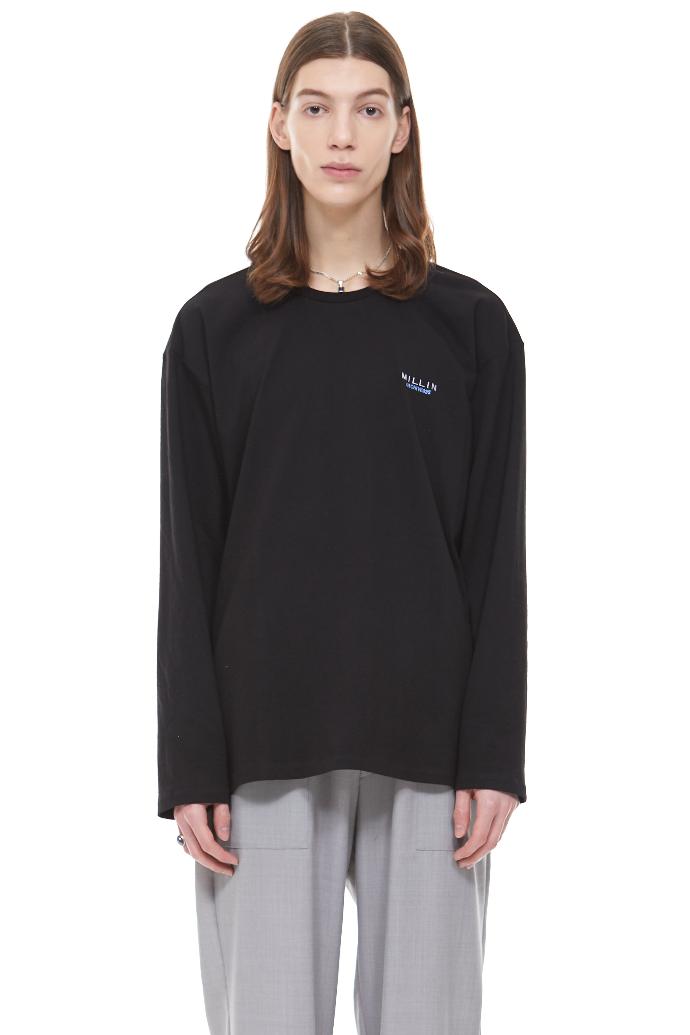 Painting Archive Long-Sleeve in Black