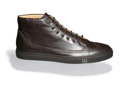 Odile High Dark Brown Sneakers High Top