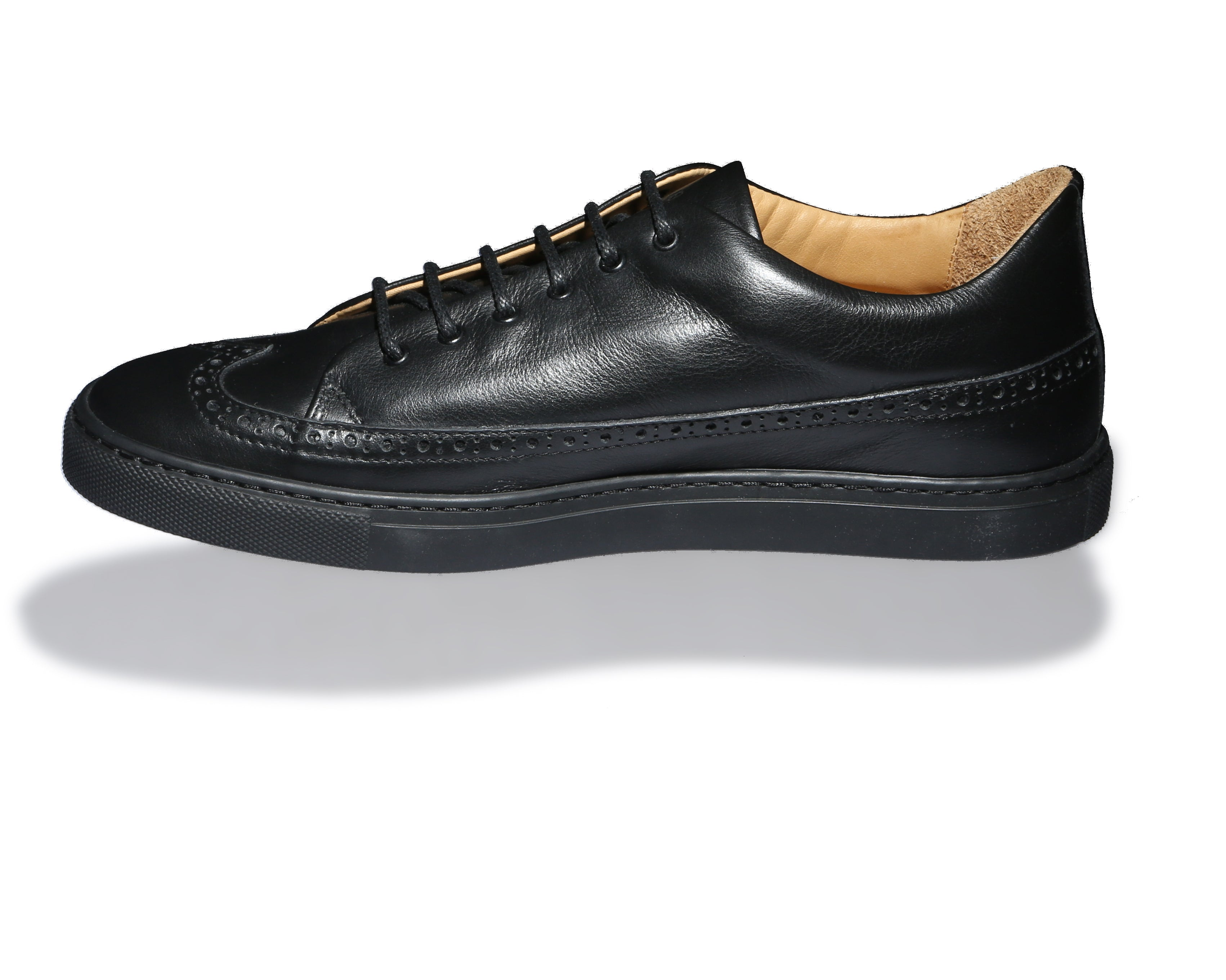Odile Low Black Sneakers
