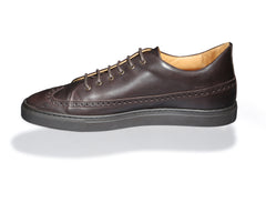 Odile Low Dark Brown Sneakers
